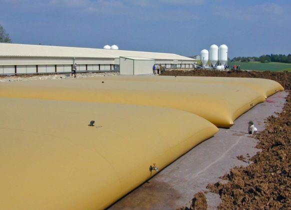Citerne souple d'eau non potable – 3×300 m3