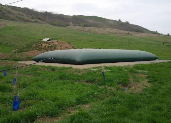 Stockage d'eau pour irrigation – 85m3