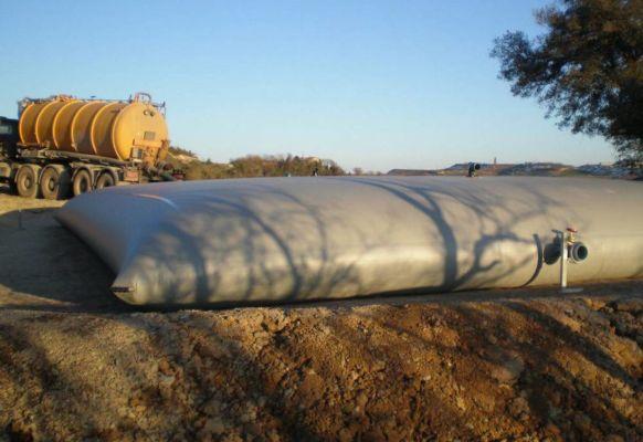 Effluents agricoles avec support de vanne – 150 m3