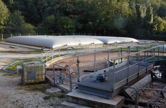 Boues de station d'épuration 2×300 m3