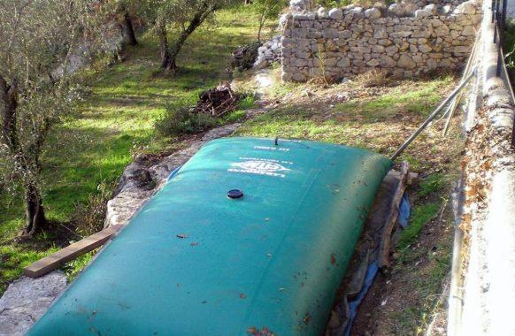 Réservoir souple 10 m3 pour eau de pluie