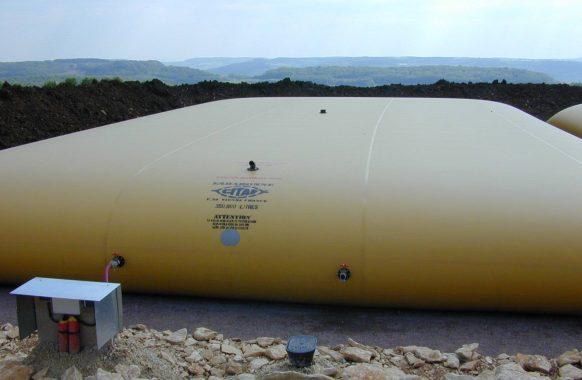 Stockage d'eau 350 m3