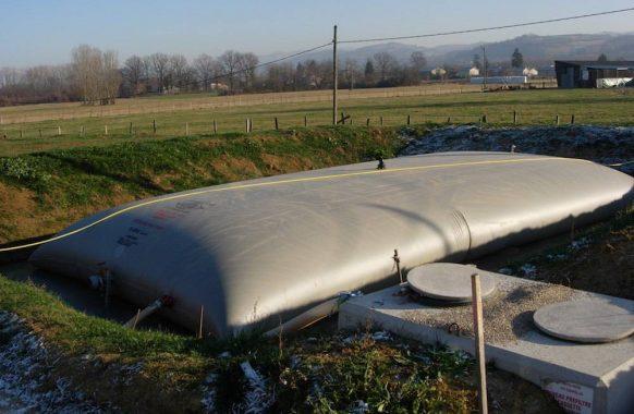 Poche souple pour effluents 100 m3