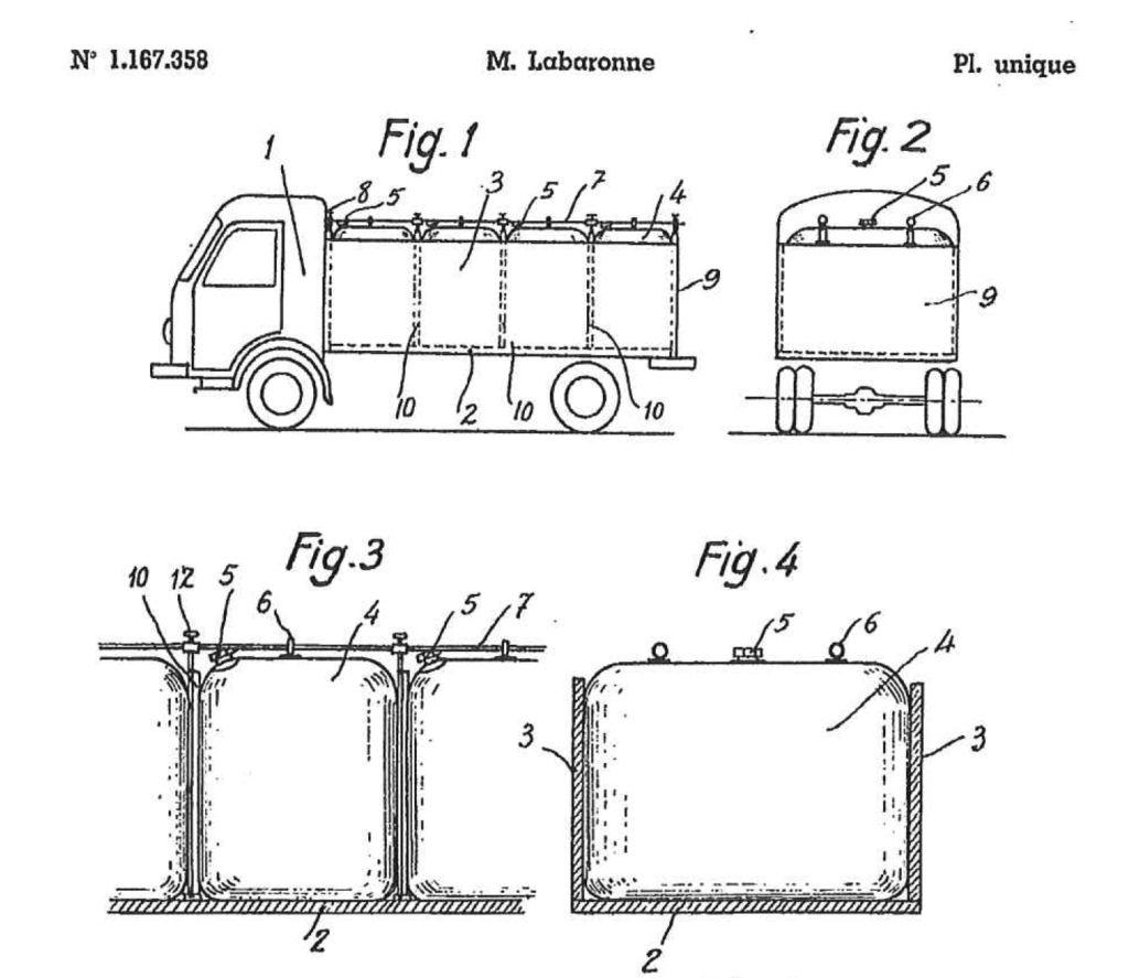 Dépôt du 1er brevet d'invention