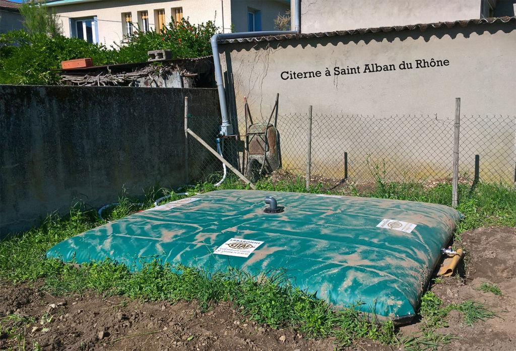 citernes eau jardins potagers Restos du Cœur