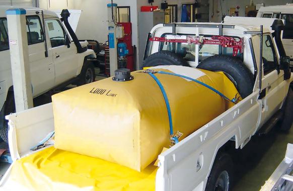 Citerne de transport pour Pick-up – 1 m3