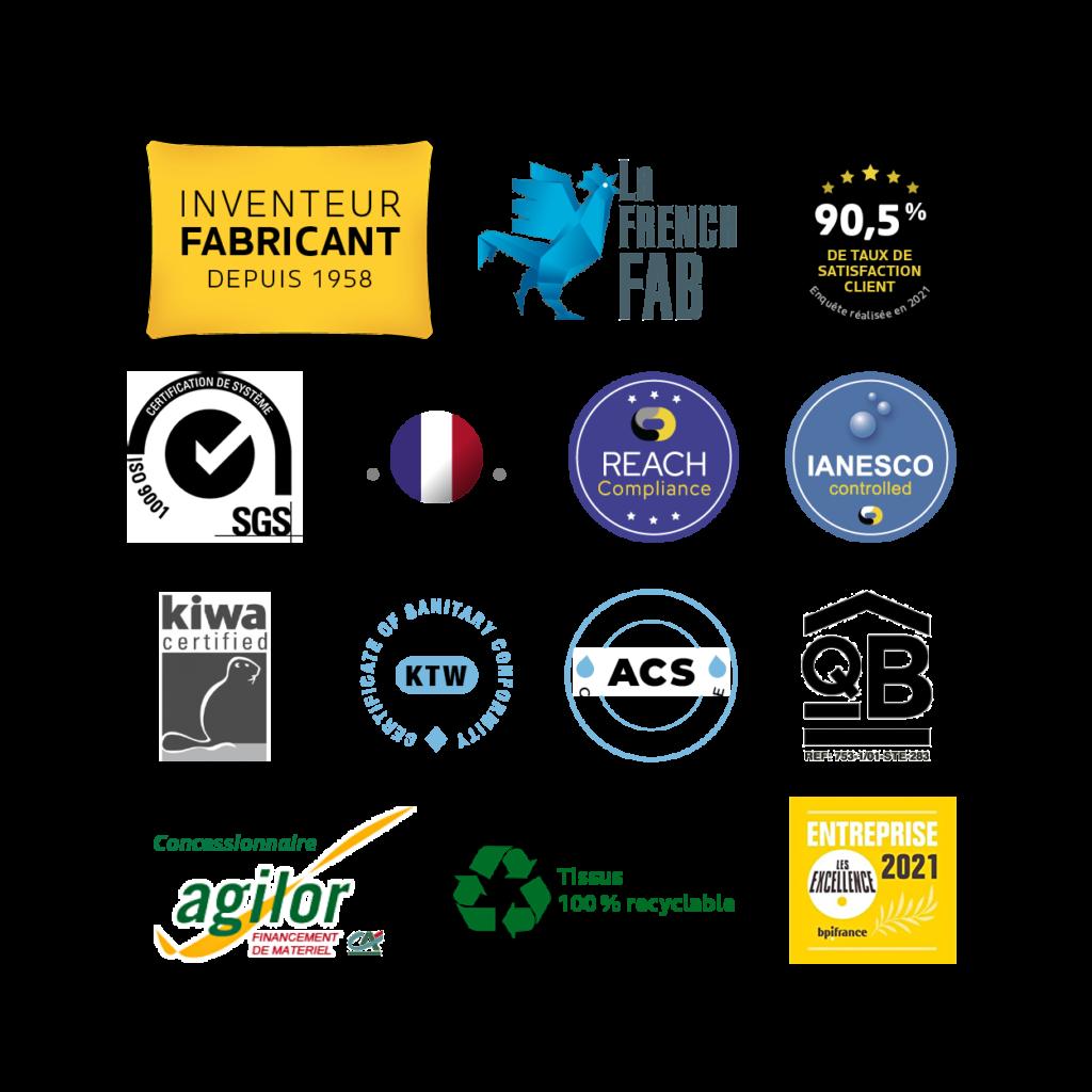 Labaronne-Citaf-Certifications